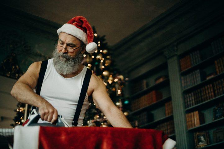 santa-working